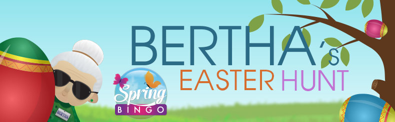 Bertha's Easter Egg Hunt