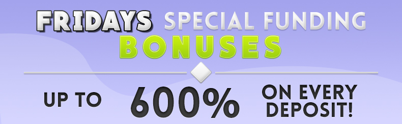 Special Funding Bonuses
