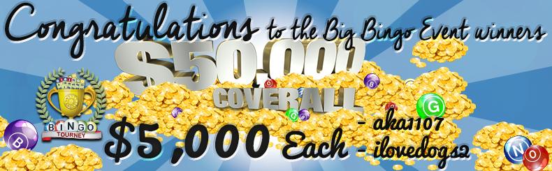 Congratulations Big Winners