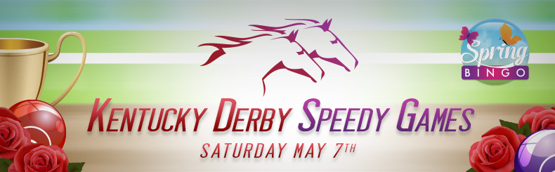 Kentucky Derby Speedy Bingo