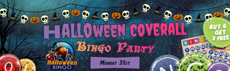 Halloween Coverall Bingo Tourney