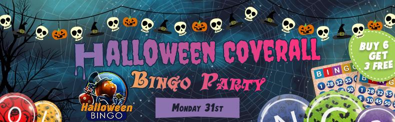 Halloween Coverall Bingo Tourney