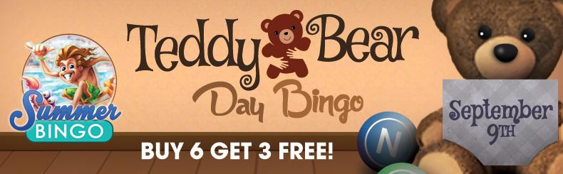 Teddy Bear Day Bingo