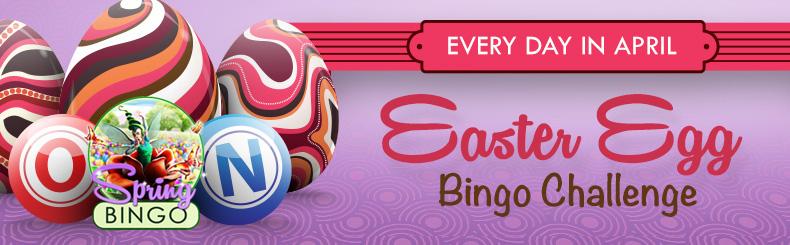 Easter Egg Bingo Challenge