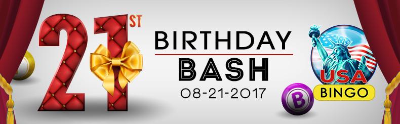 21st Birthday Bash