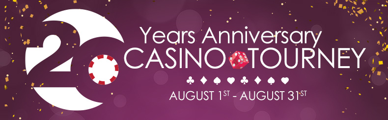 20 Year Anniversary Casino Tourney