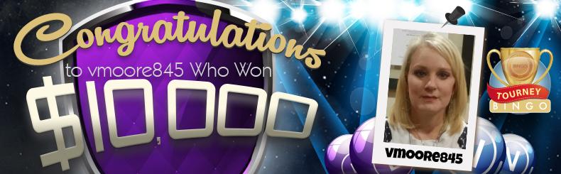 Congratulations Vmoore845