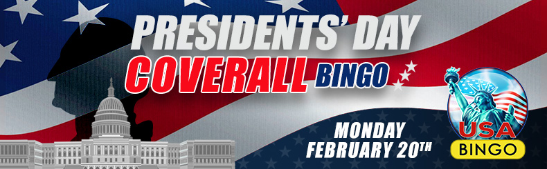 Presidents Day Bingo