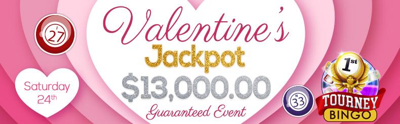 Valentine's Jackpot Event