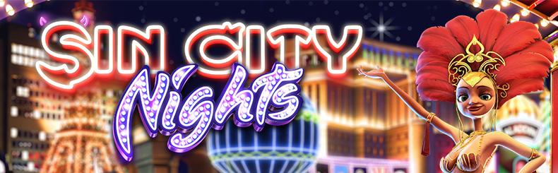 Sin City Nights 3D Slot
