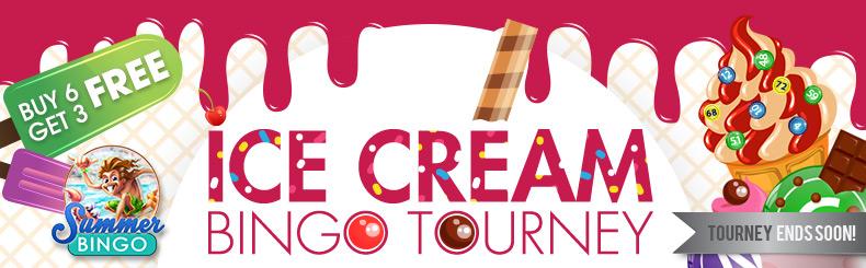 Ice Cream Bingo Tourney