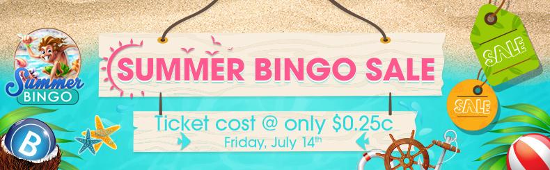 Summer Bingo Sale