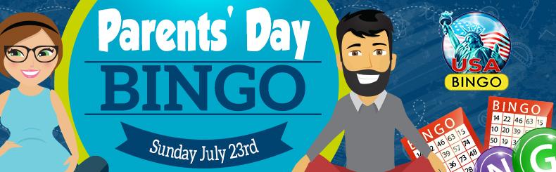 Parents Day Bingo