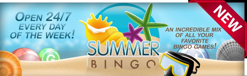 Summer Bingo Fun