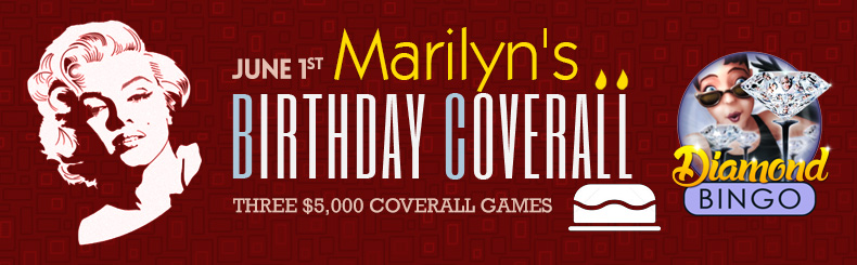 Marilyn's Birthday Coverall