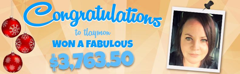Congratulations Tlaymon