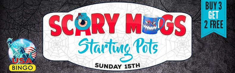 Scary Mugs Starting Pots