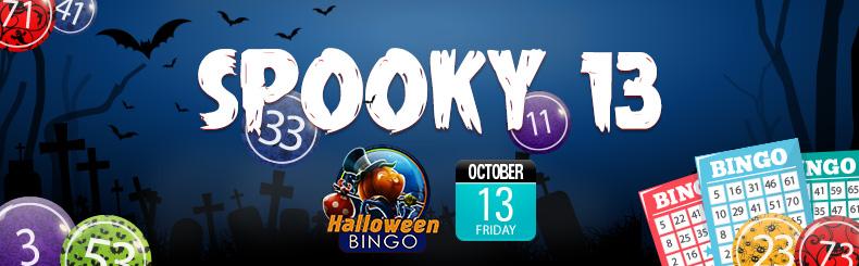 Spooky 13