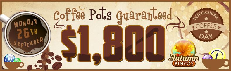 Coffee Pots Guaranteed