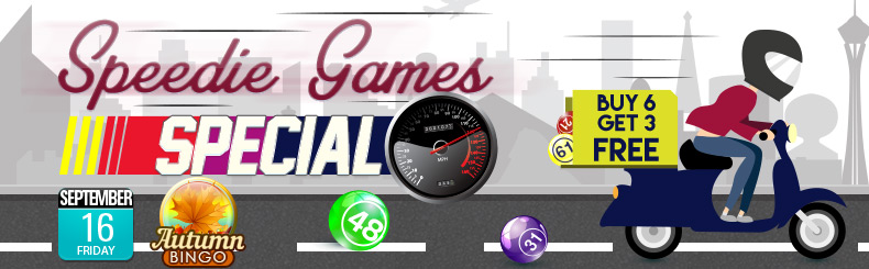 Speedie Games Special