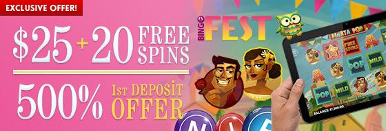 BingoFest Exclusive Offer