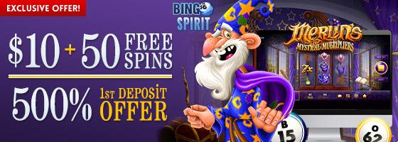 Bingo Spirit Exclusive Offer