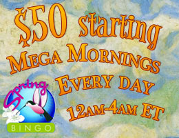 $50 Starting Mega Morning