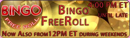 Bingo Free Roll