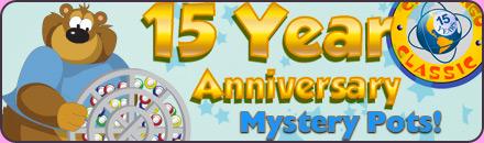 CB 15th Anniversary Mystery Pots