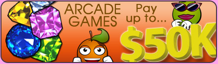 Arcade Games pay up to $50,000