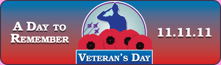 Veteran's Day Guaranteed $1100/$1100/$1100