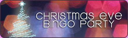 Christmas Eve bingo Party