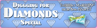 Digging for Diamonds Special