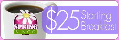 $25 Starting Breakfast