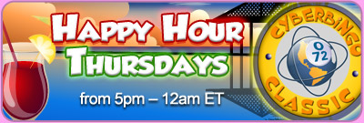 Happy Hour Thursdays