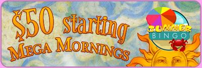 $50 Starting Mega Morning Games