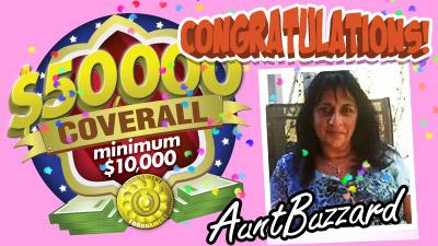 $50K Coverall Min $10K Game Winner