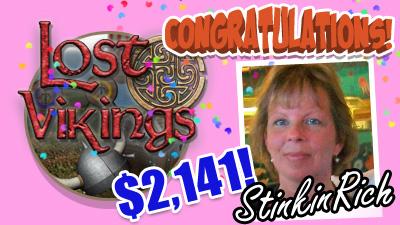 Congratulations StinkinRich for winning $2,141!