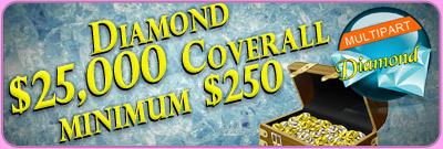 Diamond $25,000 Coverall minimum $250