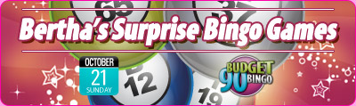 Bertha's Surprise Bingo Games