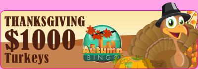 Thanksgiving $1,000 Turkeys
