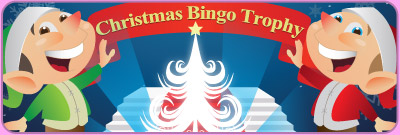 Christmas Bingo Trophy