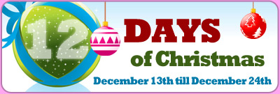 Twelve Days of Christmas BBs