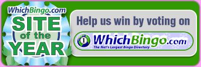 Vote for us on WhichBingo.com