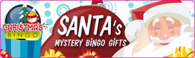 Santa's Mystery Bingo Gifts
