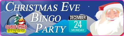 Christmas Eve Bingo Party