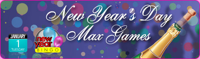 New Year's Day Max Games