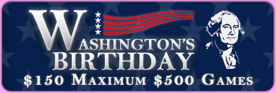 Washington's Birthday Max Games