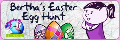 Bertha's Easter Egg Hunt