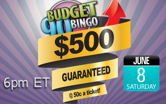 $500 Guaranteed @50c a ticket